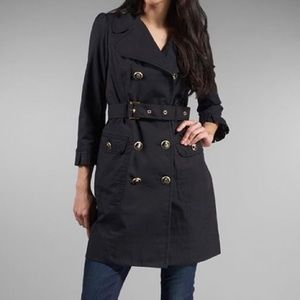 NWT Juicy Couture Belted Trench Coat size small